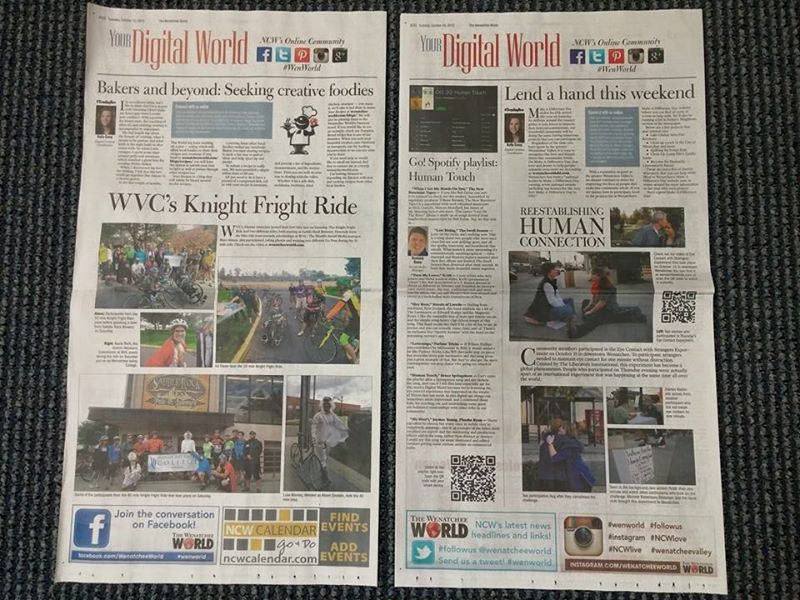 Examples from Your Digital World, feature in The Wenatchee World every Tuesday.